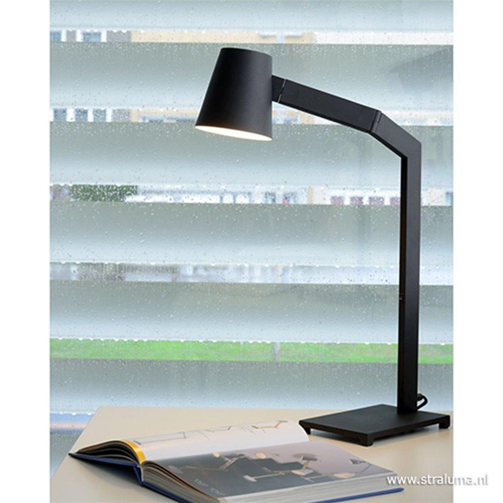 Zwarte tafellamp modern design