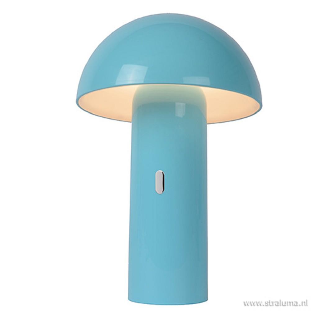 LED kinderlamp blauw dimbaar-oplaadbaar
