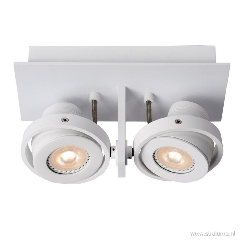 2-Lichts opbouwspot wit dim to warm LED