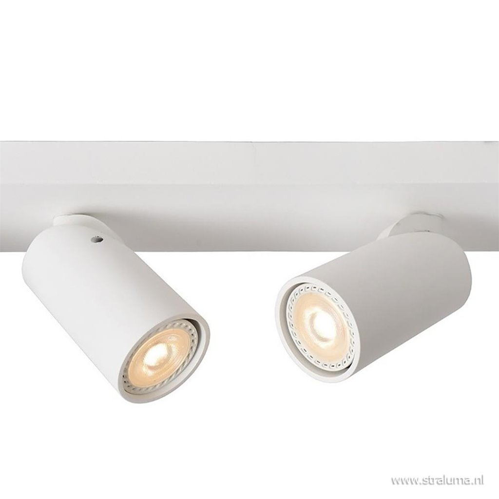 Moderne opbouwspot 4-lichts LED dim to warm
