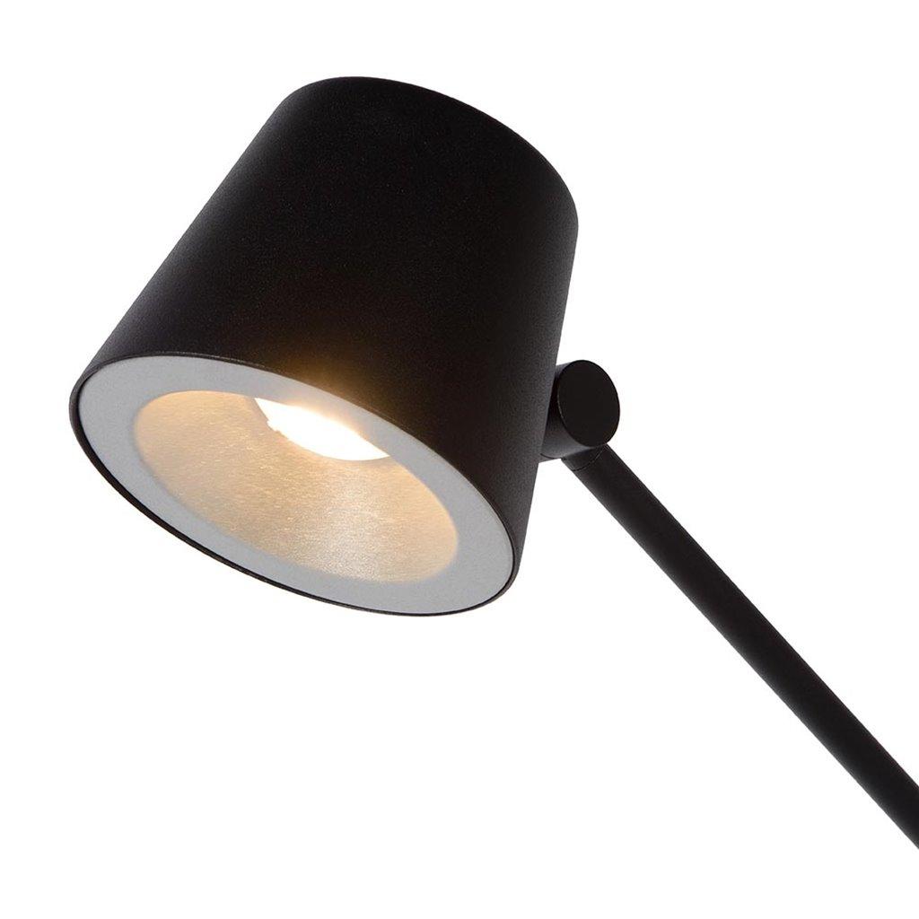 Verstelbare LED bureaulamp zwart dimbaar