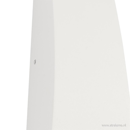 LED buitenlamp up+down wit aluminium IP54