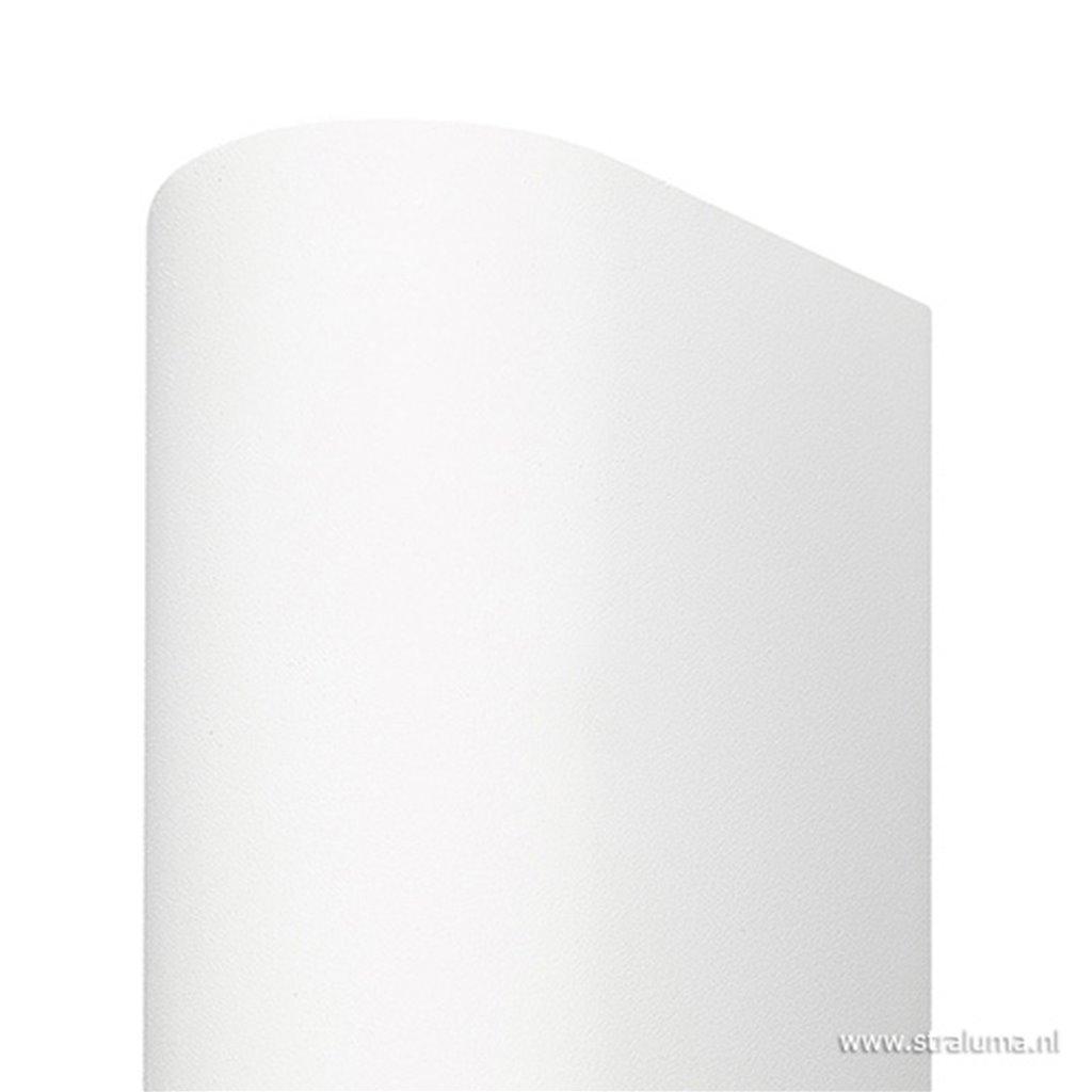 Buitenlamp up+down aluminium wit IP54