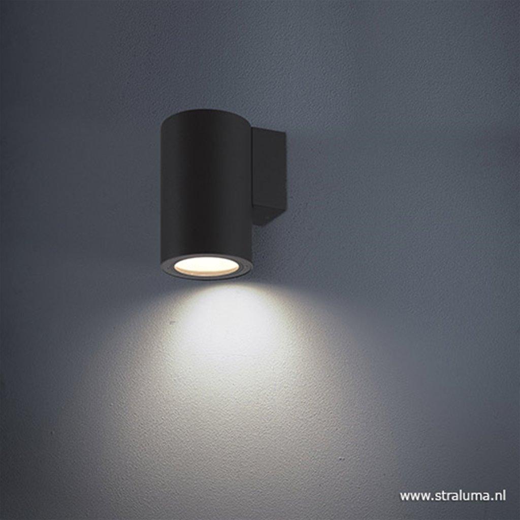 Wandlamp buiten down antraciet IP54