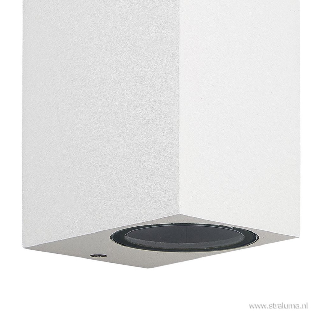 Wandlamp buiten wit up+down IP54