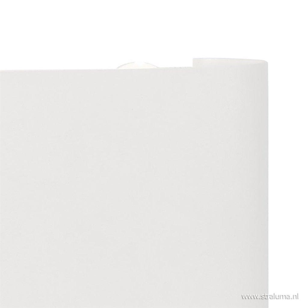 LED wandlamp buiten IP54 wit aluminium