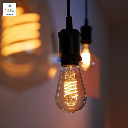 Philips Hue white Bluetooth ST64 E27 lamp flame