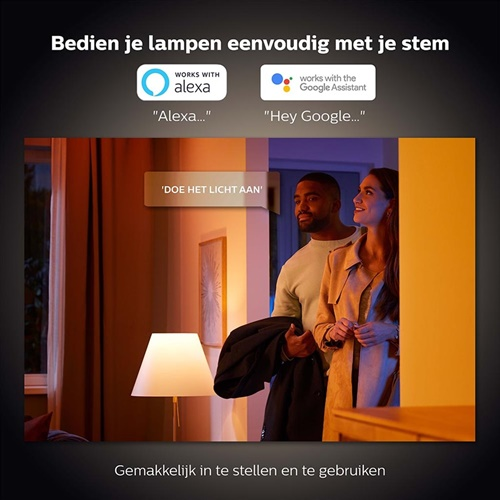 Philips Hue 8.5w e27 white ambiance BT