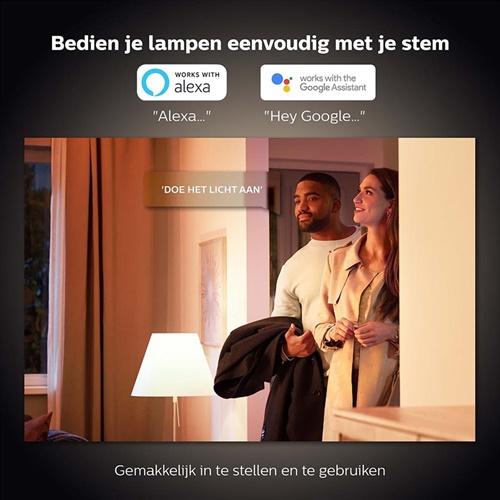 Philips Hue white Bluetooth E14 lamp warm wit
