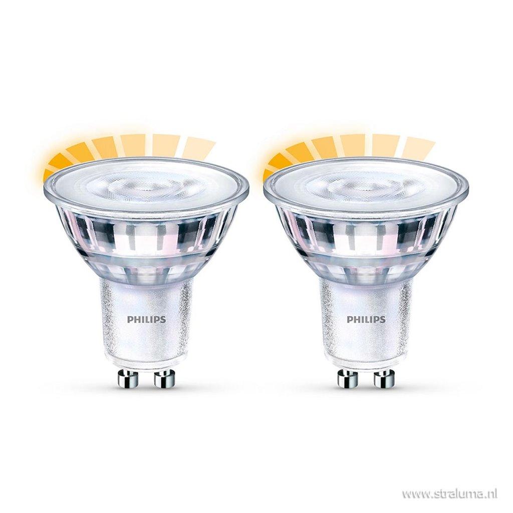 LED GU10 2-pack 2,6W dimbaar