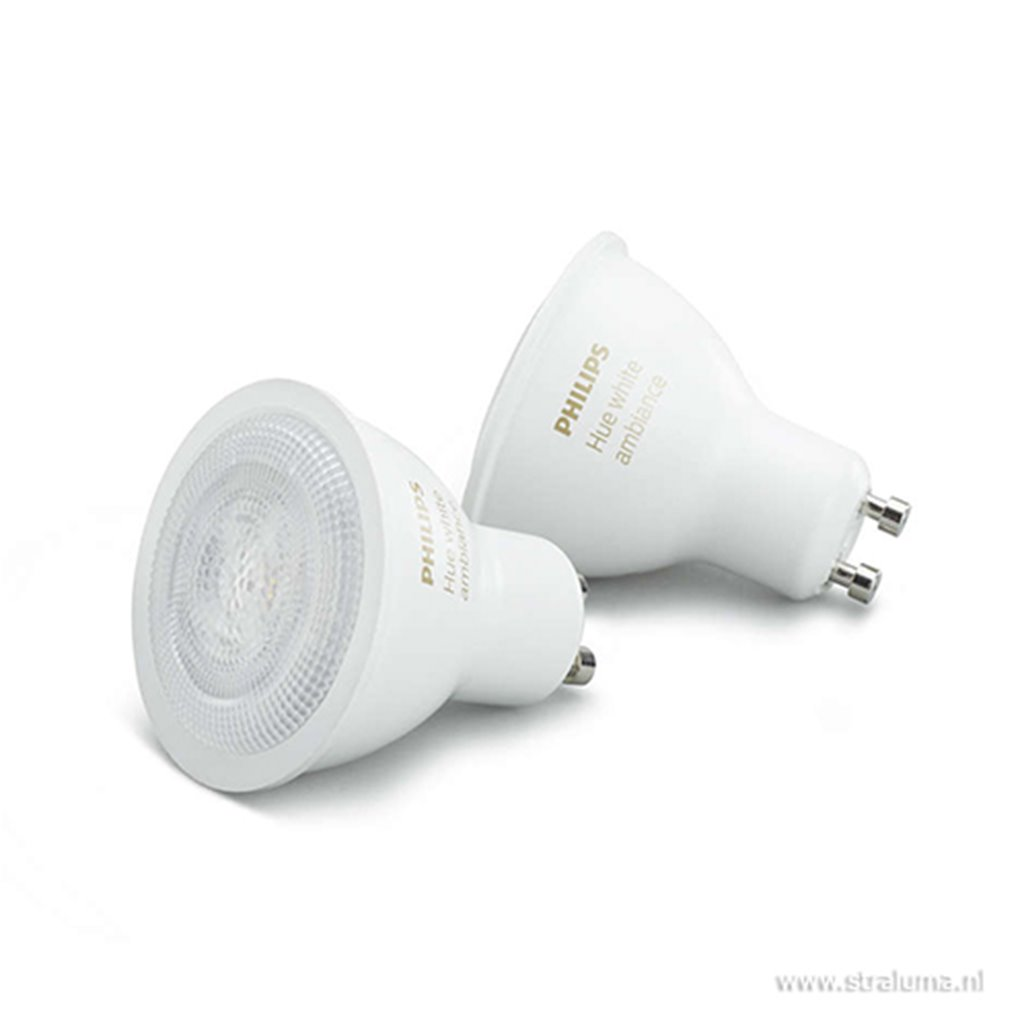 Philips HueWA 5W GU10 2P EUR
