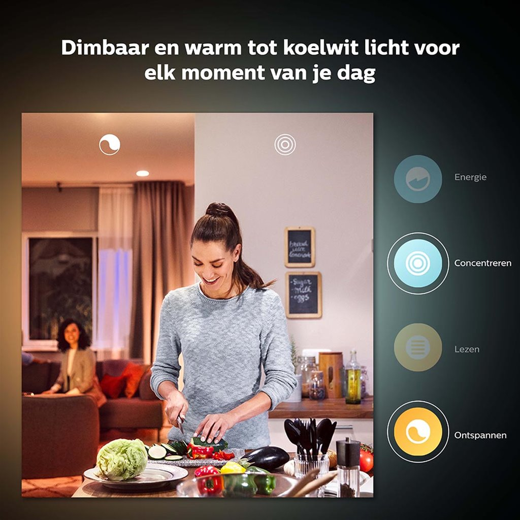 Philips Hue white and color ambiance GU10 lamp Bluetooth