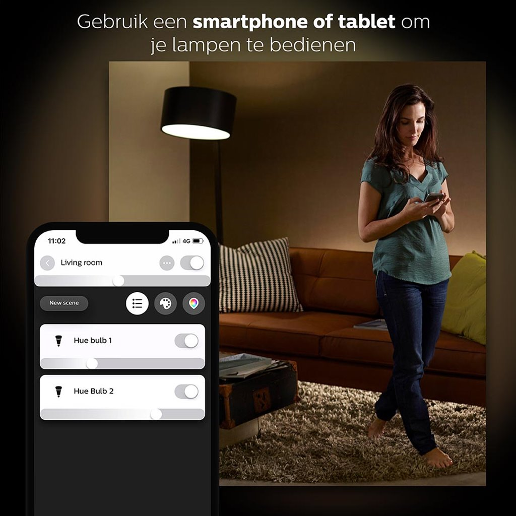 Philips Hue white ambiance starter kit E27 met Bluetooth