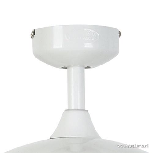 Uitklapbare plafondventilator met lamp