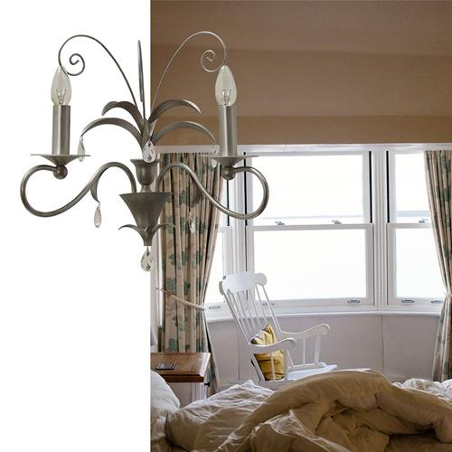 Romantische wandlamp Moskow met pegels