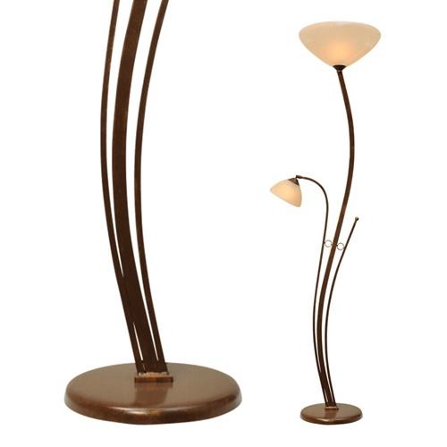 Klassieke vloerlamp Bolzano brons