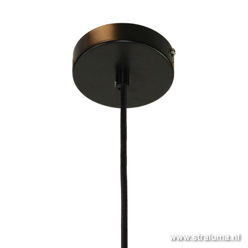 Hanglamp smokey glas keuken-hal-bar-w