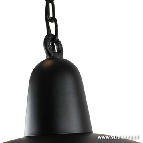 ndustriële hanglamp zwart voor eettaf