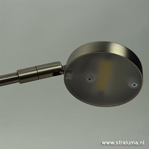 Moderne LED wandlamp-leeslamp dimbaar