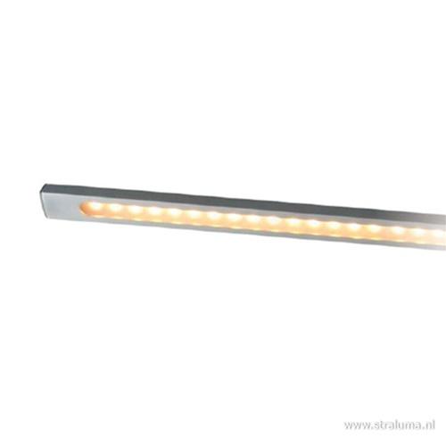 Hanglamp balk alu 160cm led direct