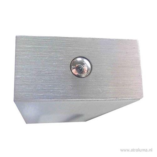 Hanglamp balk alu 100cm led direct