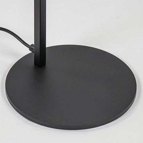 Vloerlamp Tube zwart basic met verstelbare pendel