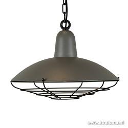 Hanglamp Industrie grijs voor keuken hal