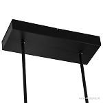 **Design hanglamp LED zwart dimbaar