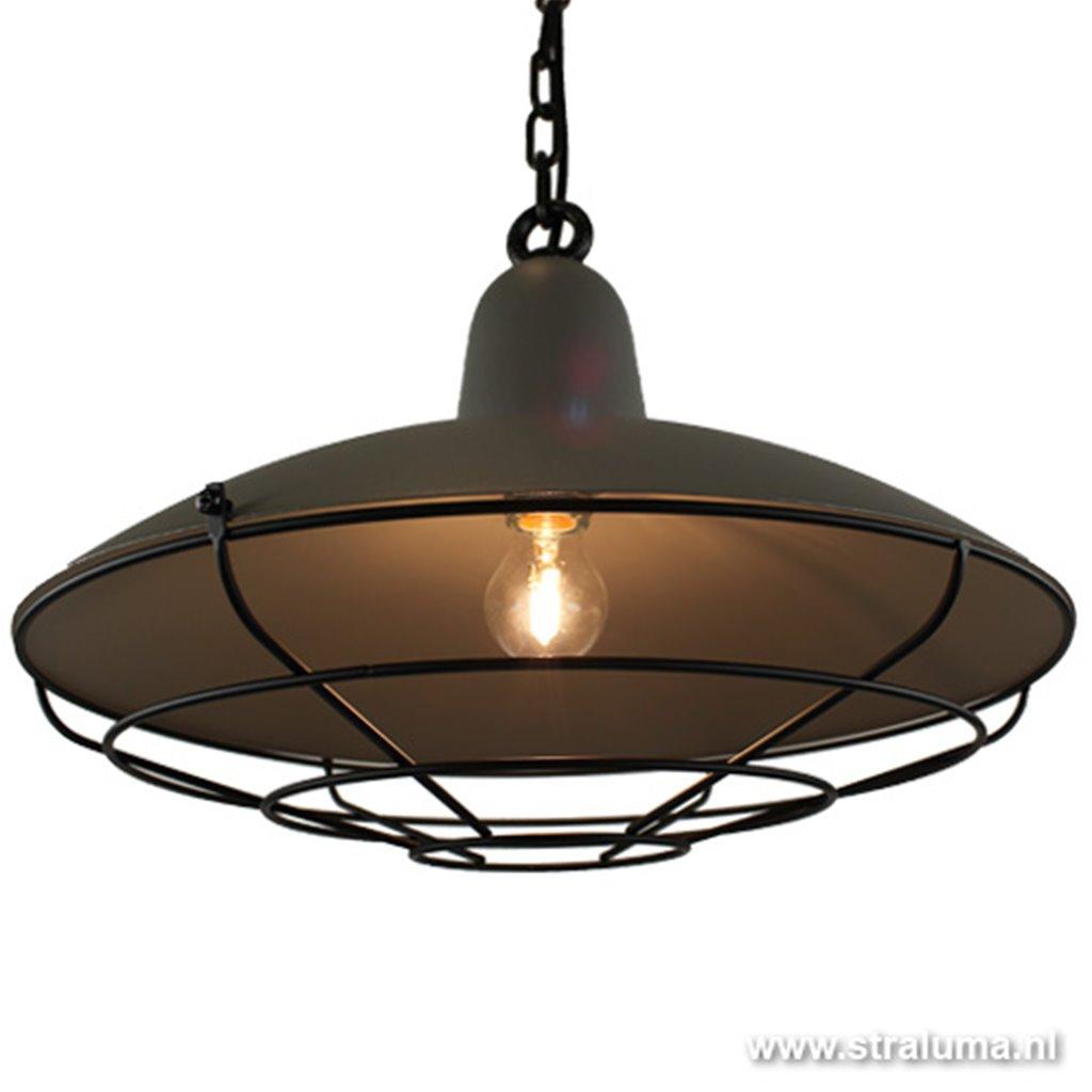 **Hanglamp Industrie grijs  keuken hal