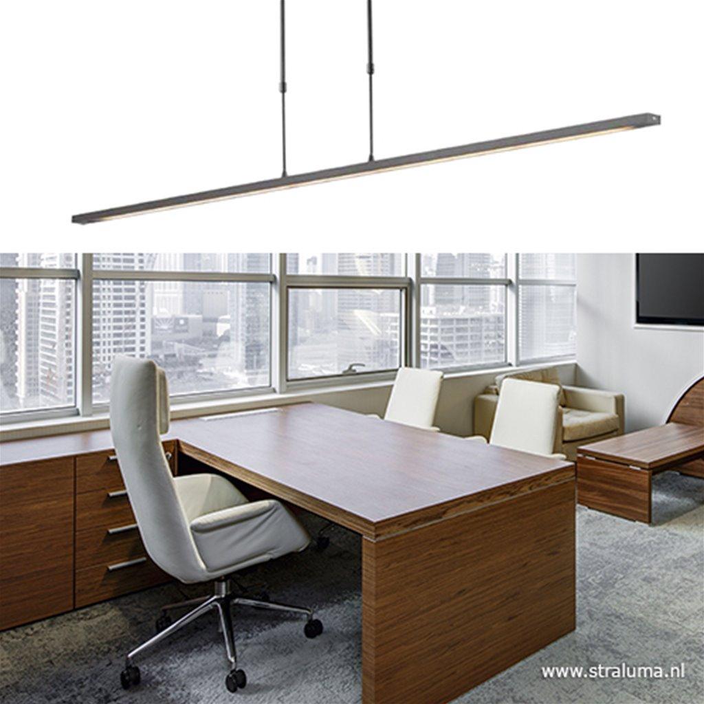 *Zwarte LED hanglamp eettafel + dimmer