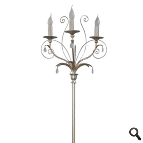 Romantische vloerlamp Moskow kandelaar
