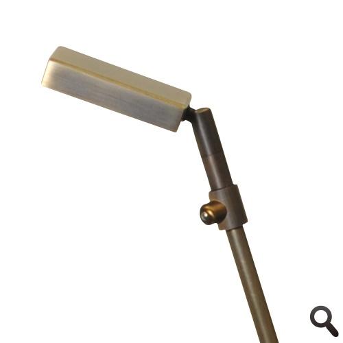 Klassieke leeslamp LED brons Denia