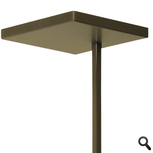 Klassieke uplighter LED brons dimbaar