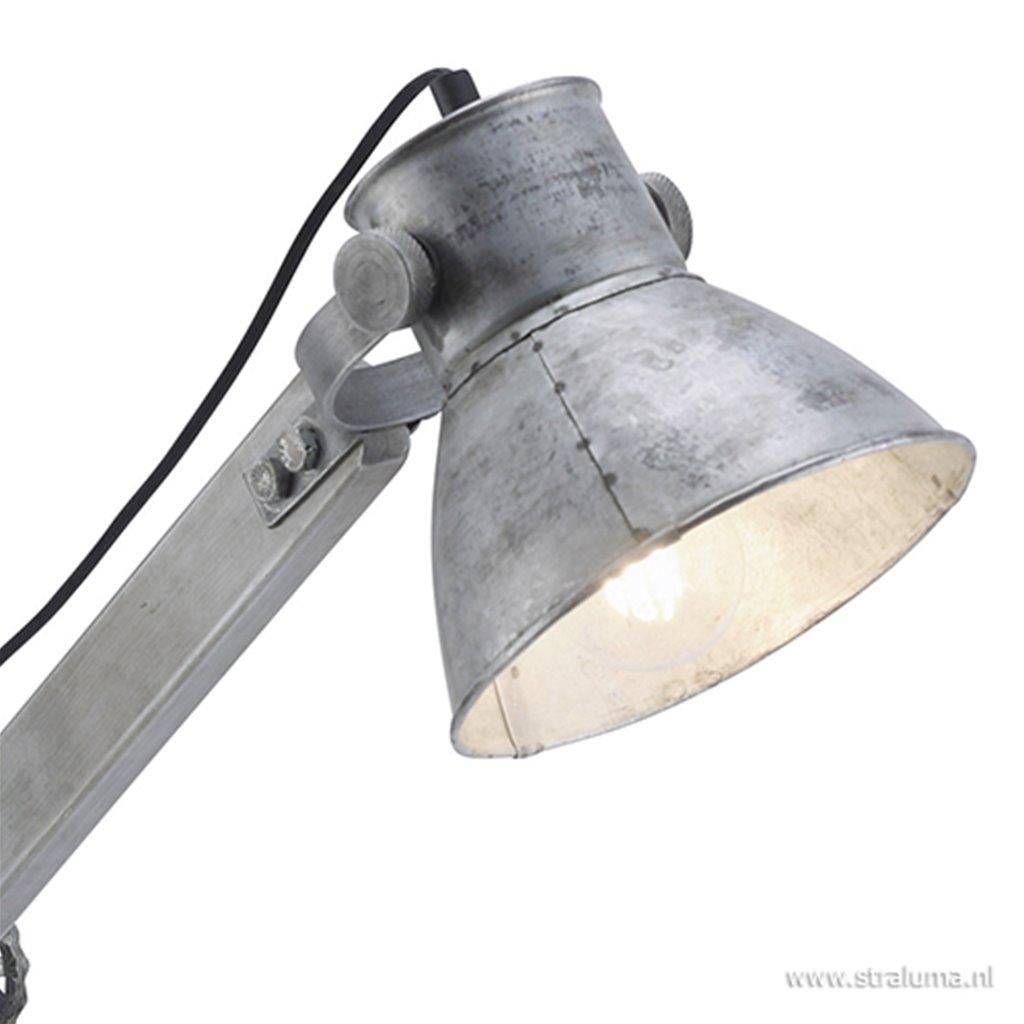 Industrieel landelijke tafellamp Samia