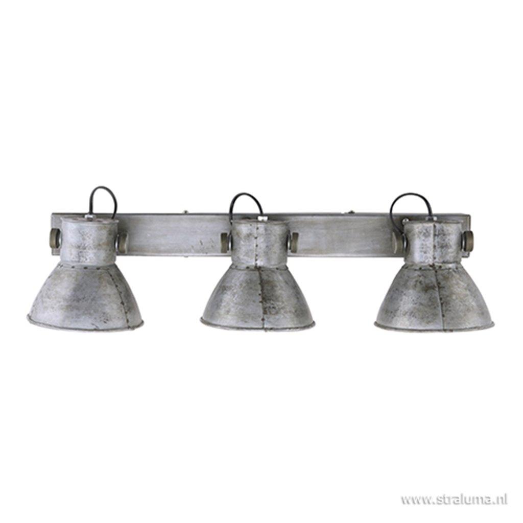 Industriële plafondspot vintage metaal