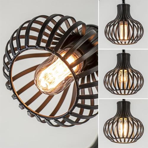 Moderne 5-lichts plafondlamp met verstelbare kappen