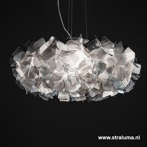 Hanglamp Clizia 78cm fumé