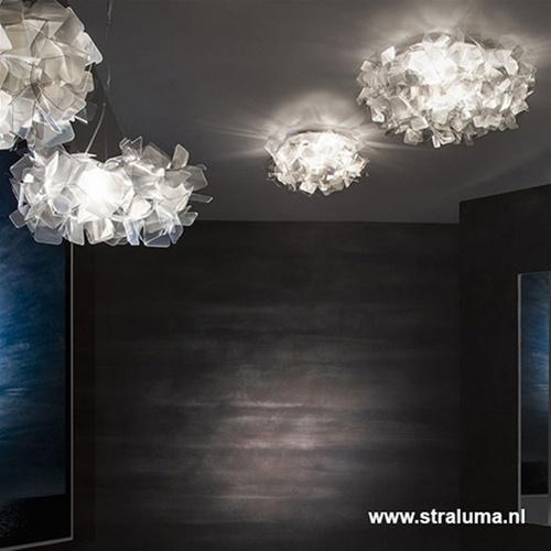 Plafondlamp Clizia 32cm fumé