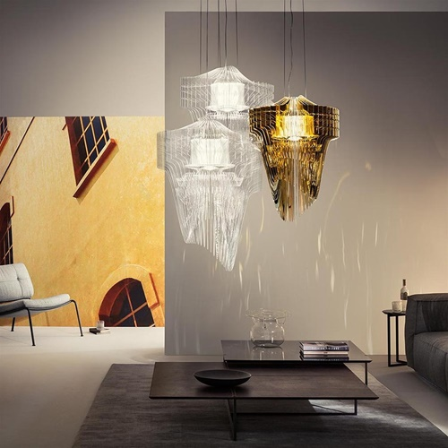 Moderne design hanglamp groot transparant