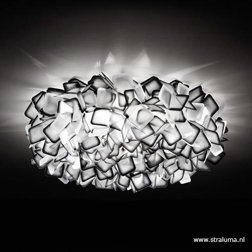 Plafondlamp Clizia 78cm zwart