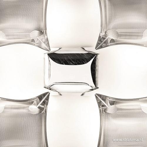 Plafondlamp Mida silver 50cm
