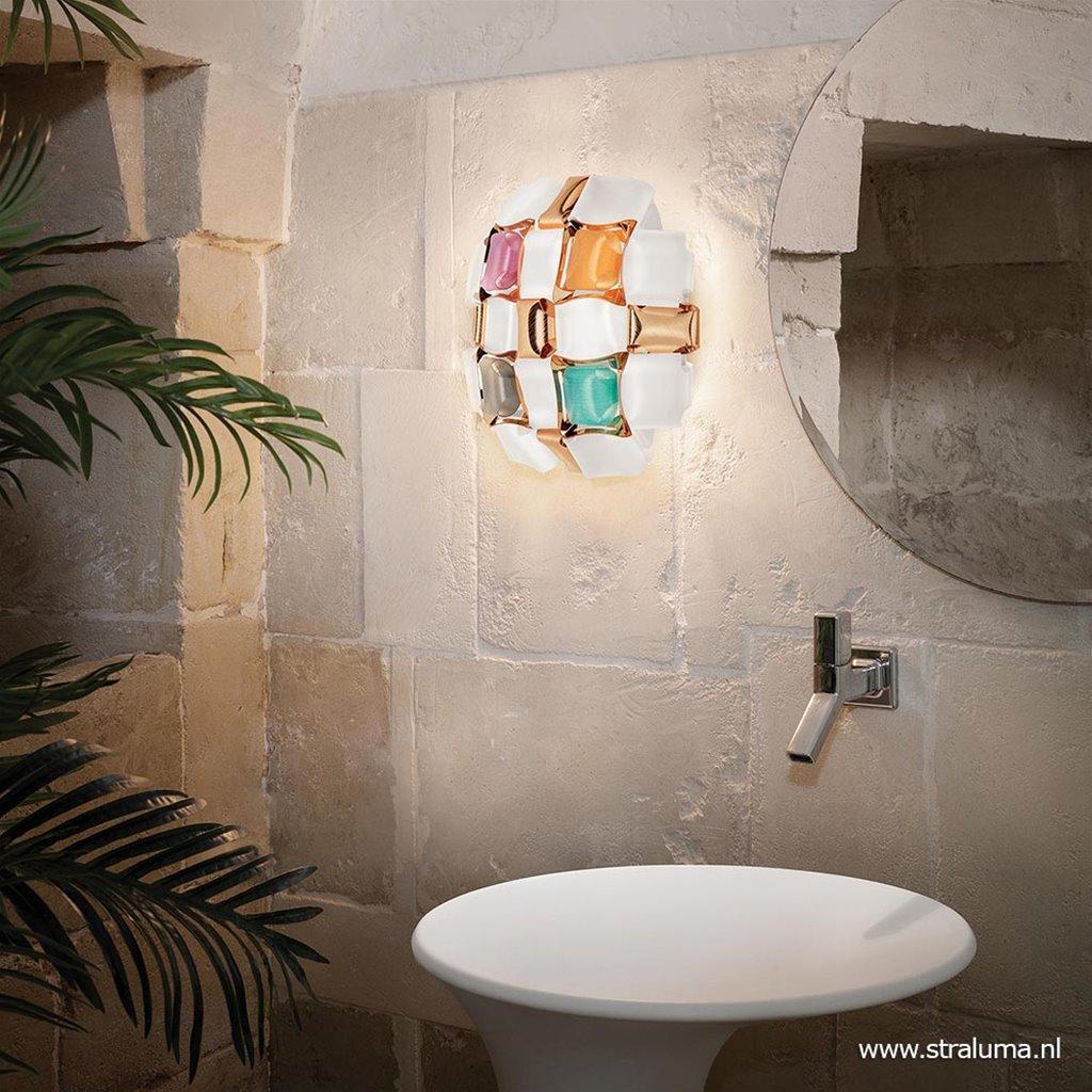 Plafondlamp Mida multicolor 32cm