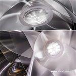 *Outlet Hanglamp transp.lentiflex led