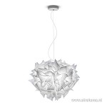 Hanglamp couture wit 60cm