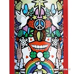 Vloerlamp Slamp Love Peace Joy