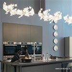 **Grote hanglamp LED design flowers