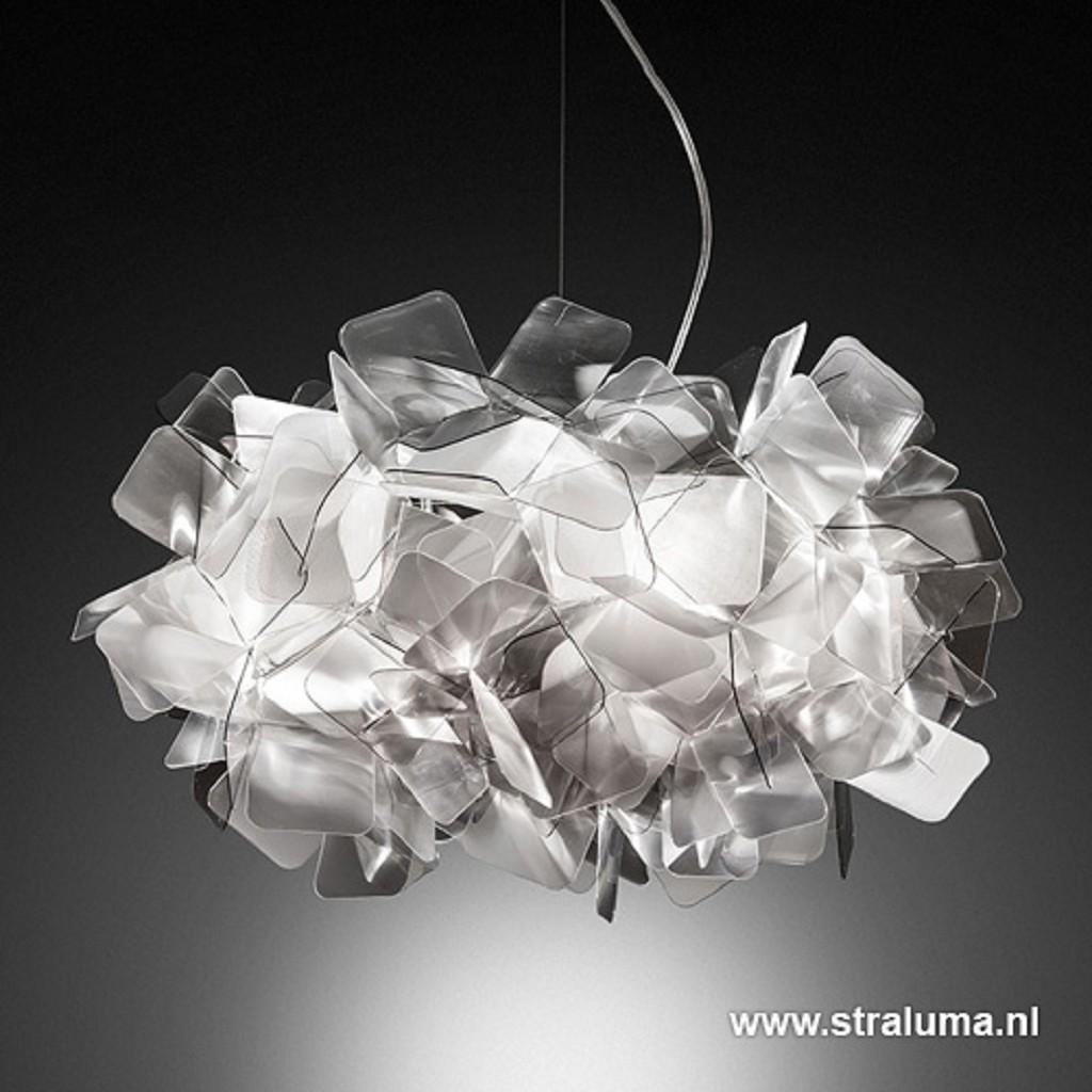 Clizia design hanglamp fumé 53cm