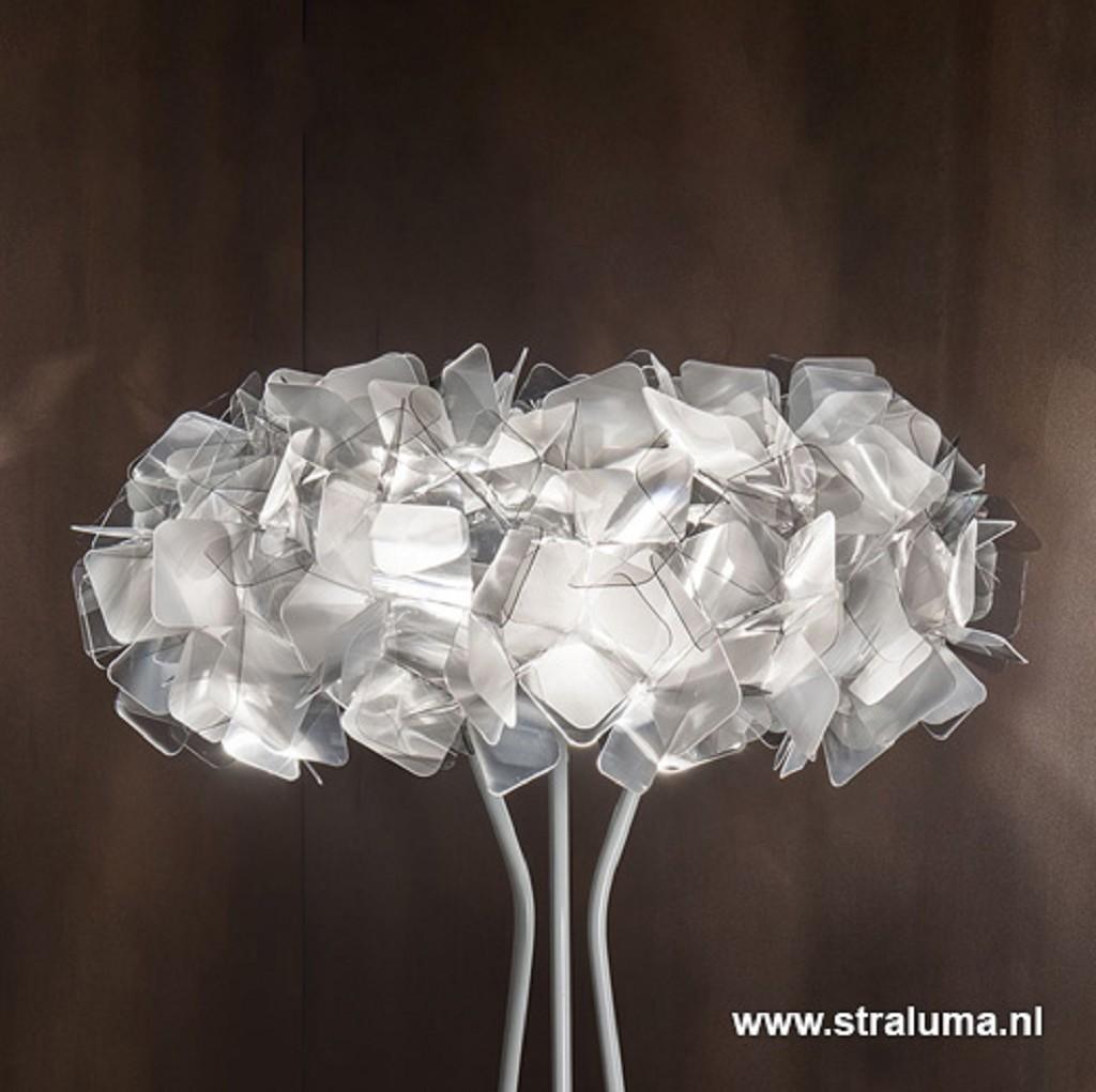 Vloerlamp Clizia fumé