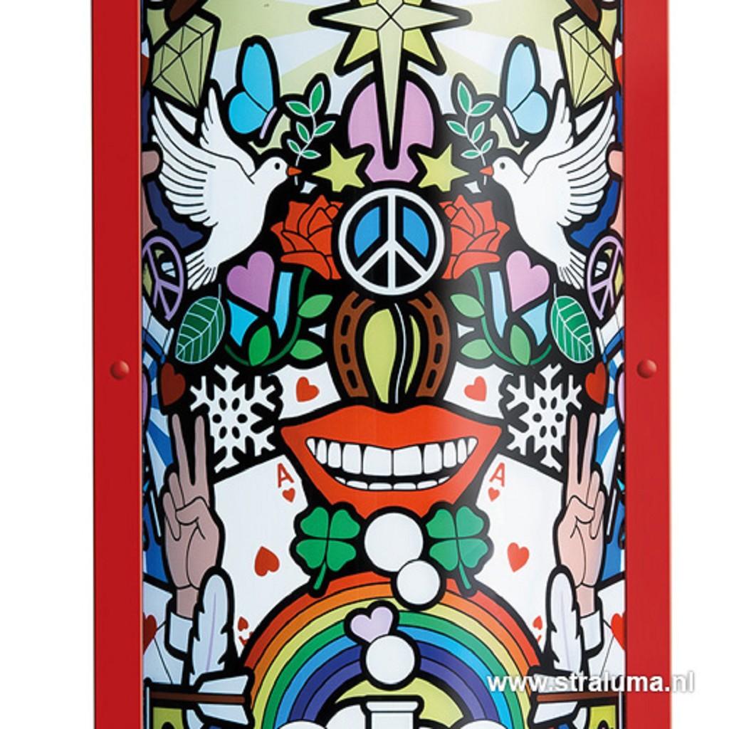 "Vloerlamp Studio Job ""Love Peace Joy"""