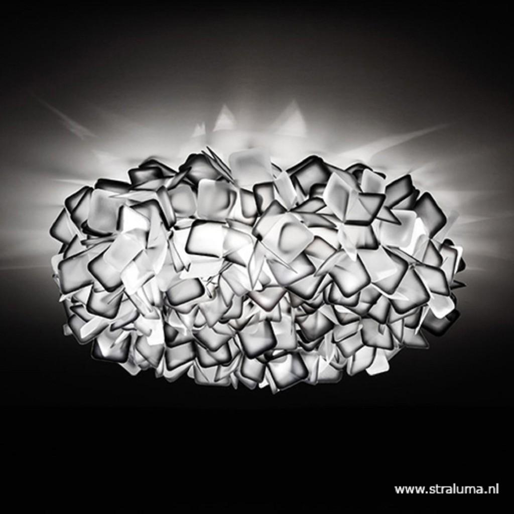 Clizia plafondlamp 78cm zwart